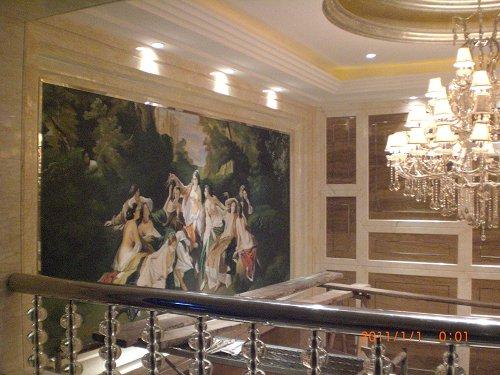 金帆酒店大堂欧式古典油画 - 天津798文化创意有限